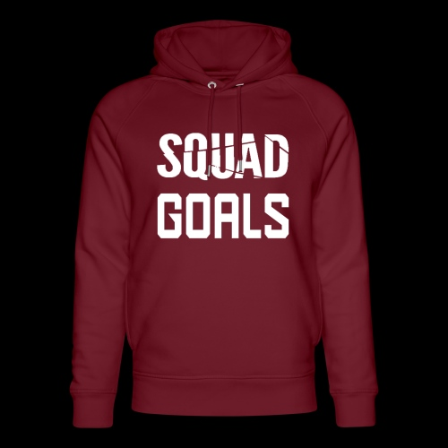 squad goals - Uniseks bio-hoodie van Stanley & Stella