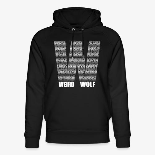The Big W (White) - Unisex Organic Hoodie by Stanley & Stella