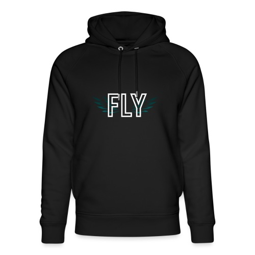 Wings Fly Design - Unisex Organic Hoodie by Stanley & Stella