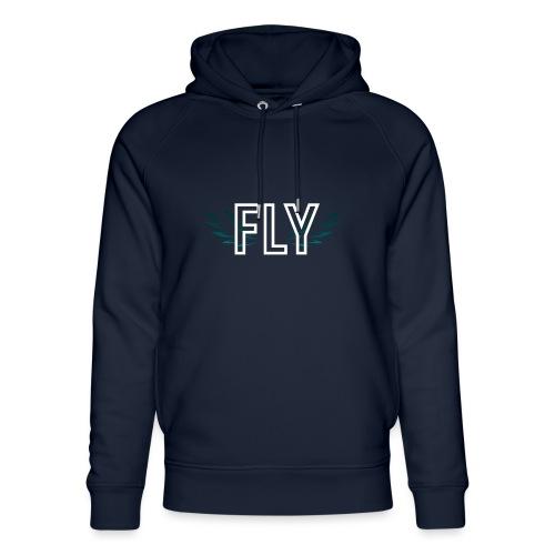 Wings Fly Design - Unisex Organic Hoodie by Stanley & Stella
