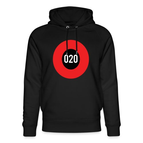 020 logo - Uniseks bio-hoodie van Stanley & Stella