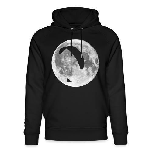 Paragleiter im Mond - Unisex Bio-Hoodie von Stanley & Stella