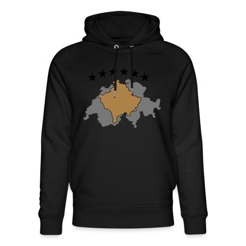 Kosovo Schweiz - Unisex Bio-Hoodie von Stanley & Stella