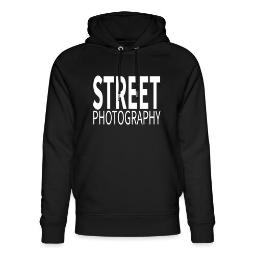 Street Photography T Shirt - Felpa con cappuccio ecologica unisex di Stanley & Stella