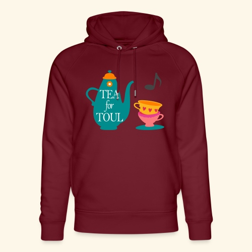 Tea for Toul - Sweat à capuche bio Stanley & Stella unisexe