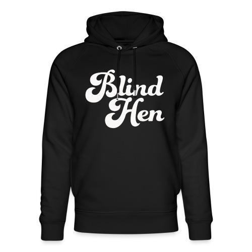 Blind Hen - Logo T-shirt premium, black - Unisex Organic Hoodie by Stanley & Stella