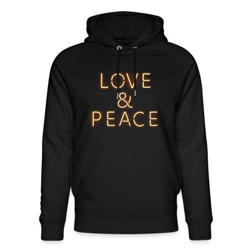 Love And Peace Neon - Unisex Bio-Hoodie von Stanley & Stella