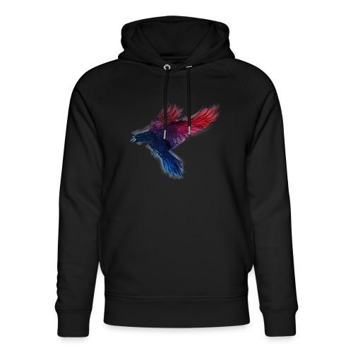 Watercolor Raven - Unisex Bio-Hoodie von Stanley & Stella