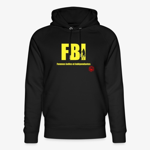 FBI - Unisex Organic Hoodie by Stanley & Stella