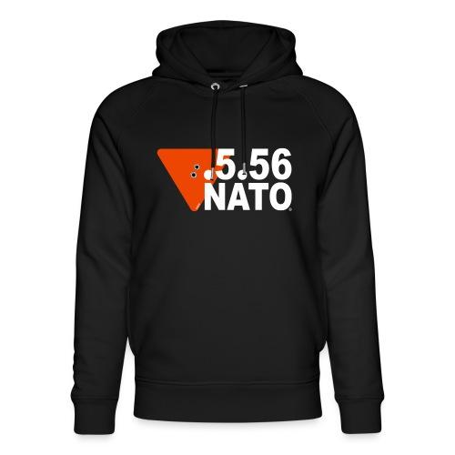 .5.56 NATO BLANC - Sweat à capuche bio Stanley & Stella unisexe