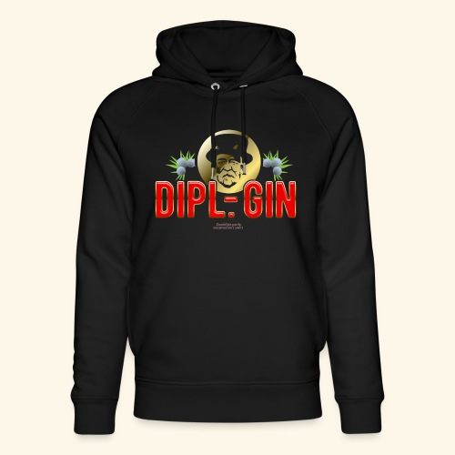 Gin T Shirt Design Dipl.-Gin - Unisex Bio-Hoodie von Stanley & Stella