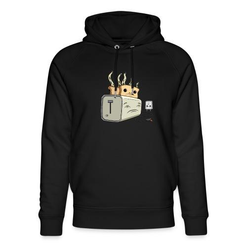 Depressed Toaster - Stanley & Stella unisex hoodie af økologisk bomuld