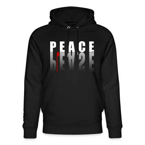 66_PeacePlease_02_ - Unisex Bio-Hoodie von Stanley & Stella