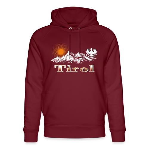 Tiroler Berge - Unisex Bio-Hoodie von Stanley & Stella