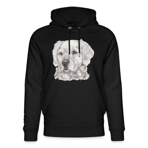 golden retriever - Stanley & Stella unisex hoodie af økologisk bomuld