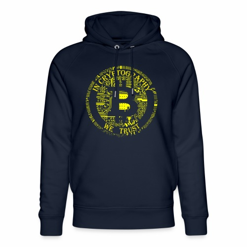 In cryptography we trust 2 - Unisex Organic Hoodie by Stanley & Stella