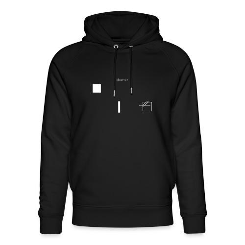 /obeserve/ sweater (M) - Unisex økologisk hettegenser fra Stanley & Stella