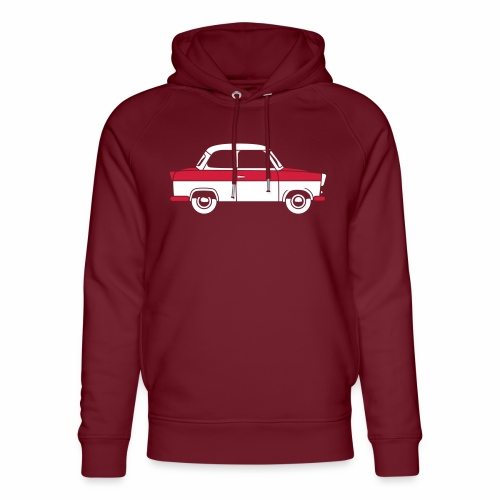 Trabant 500 Coupé 2c - Unisex Organic Hoodie by Stanley & Stella