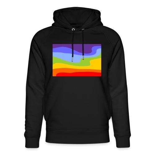 Hintergrund Regenbogen Fluss - Unisex Bio-Hoodie von Stanley & Stella
