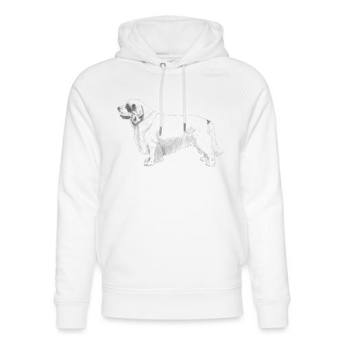 clumber spaniel - Stanley & Stella unisex hoodie af økologisk bomuld
