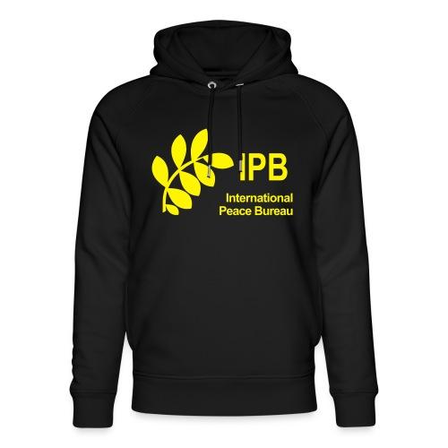 International Peace Bureau IPB Logo - Unisex Organic Hoodie by Stanley & Stella