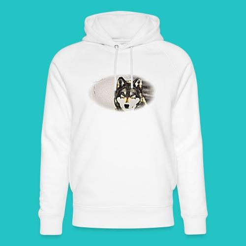 Bluza Wilk - Ekologiczna bluza z kapturem typu unisex Stanley & Stella