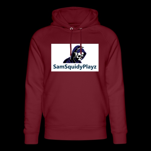 SamSquidyplayz skeleton - Unisex Organic Hoodie by Stanley & Stella