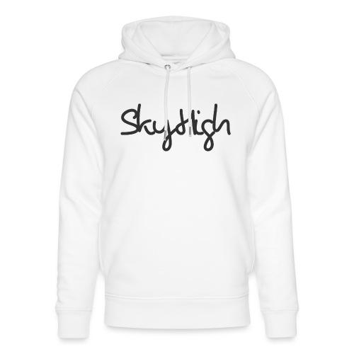 SkyHigh - Men's Premium T-Shirt - Black Lettering - Unisex Organic Hoodie by Stanley & Stella