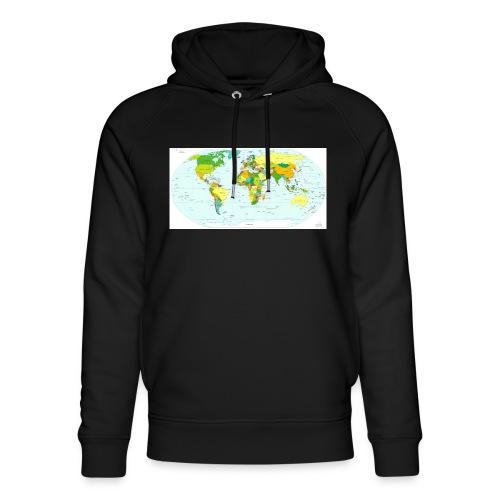 We are the world - Uniseks bio-hoodie van Stanley & Stella