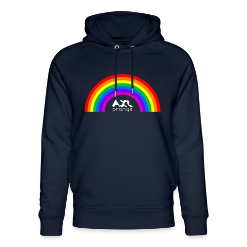 AXL_rainbow_arc - Unisex Organic Hoodie by Stanley & Stella