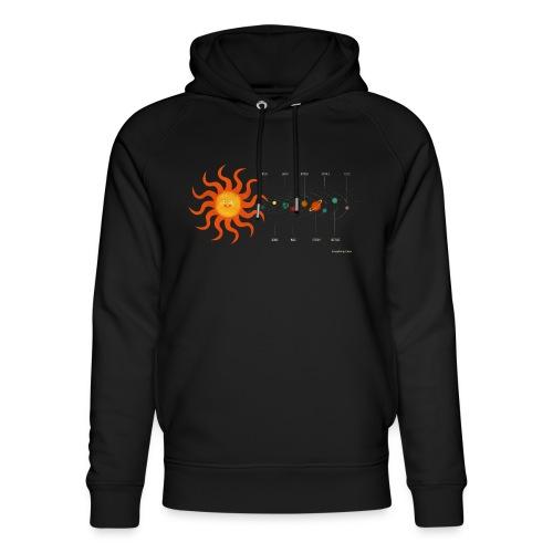 Solar System - Unisex Organic Hoodie by Stanley & Stella