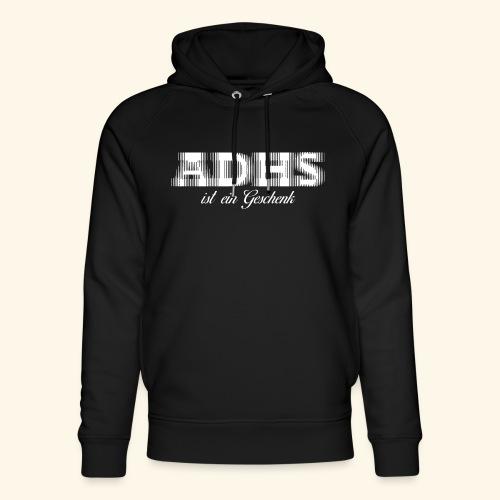 ADHS - Unisex Bio-Hoodie von Stanley & Stella