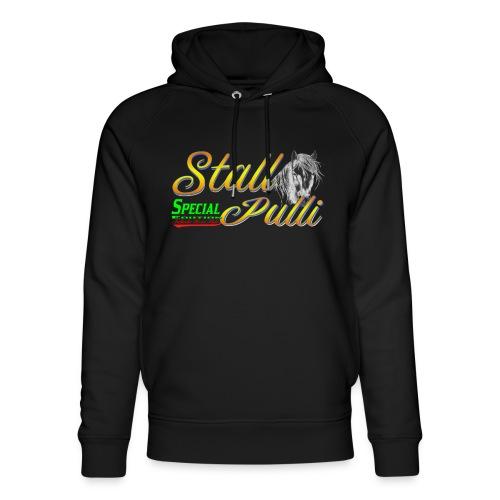 Special Edition Stall Pulli Reiten Pferd Geschenk - Unisex Bio-Hoodie von Stanley & Stella