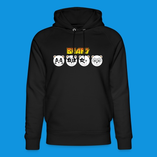 Kiss Bears.png - Unisex Organic Hoodie by Stanley & Stella