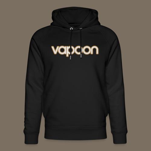 Vapoon Logo simpel 2 Farb - Unisex Bio-Hoodie von Stanley & Stella