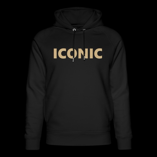 ICONIC [Cyber Glam Collection] - Unisex Organic Hoodie by Stanley & Stella