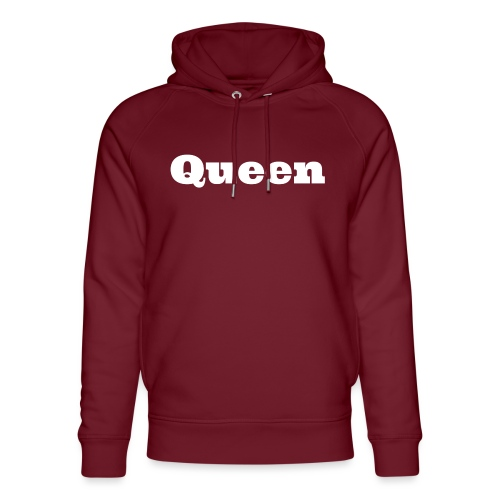 Snapback queen blauw/rood - Uniseks bio-hoodie van Stanley & Stella