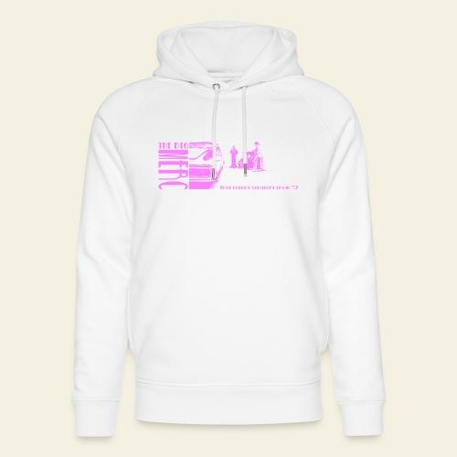 merc pink - Stanley & Stella unisex hoodie af økologisk bomuld