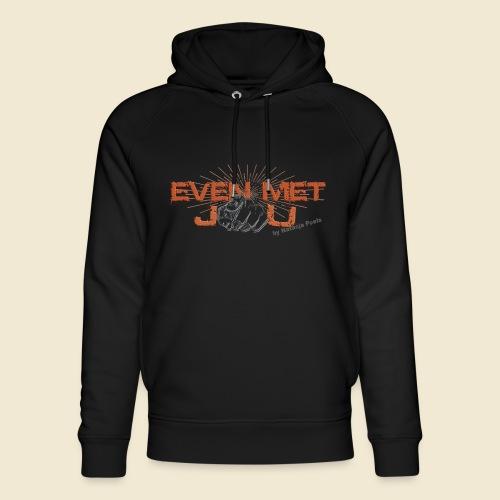 Even met jou | by Natasja Poels - Uniseks bio-hoodie van Stanley & Stella