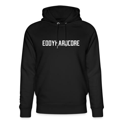 EddyHardcore logo nek transparant png - Uniseks bio-hoodie van Stanley & Stella