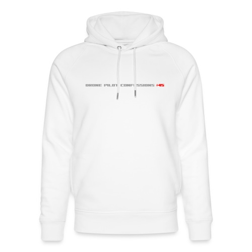 I CRASH A LOT - Unisex Organic Hoodie by Stanley & Stella