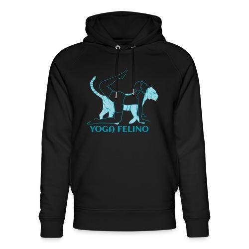 t shirt design YOGA FELINO - Felpa con cappuccio ecologica unisex di Stanley & Stella