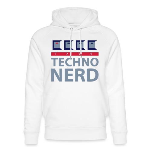 Techno Nerd - Unisex Organic Hoodie by Stanley & Stella