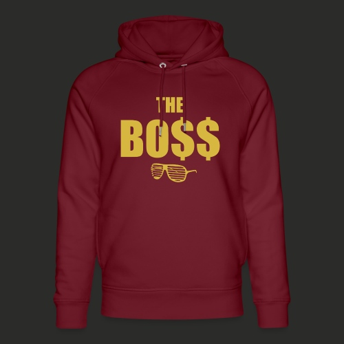 The Bo$$ Mens T-Shirt - Unisex Organic Hoodie by Stanley & Stella