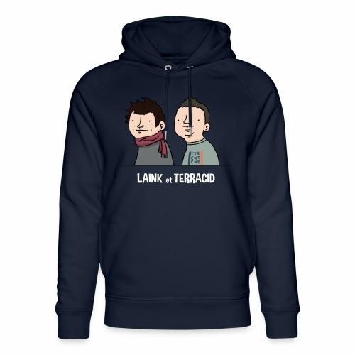 Laink et Terracid old - Sweat à capuche bio Stanley & Stella unisexe