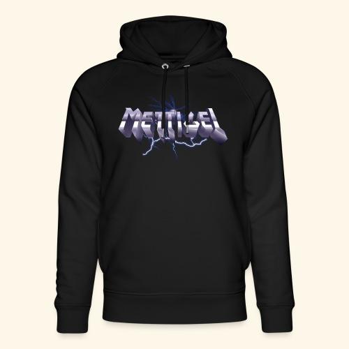 Mettigel T Shirt Design Heavy Metal Schriftzug - Unisex Bio-Hoodie von Stanley & Stella