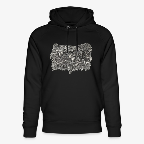 Grotesque No1 by Brian Benson - Unisex Organic Hoodie by Stanley & Stella