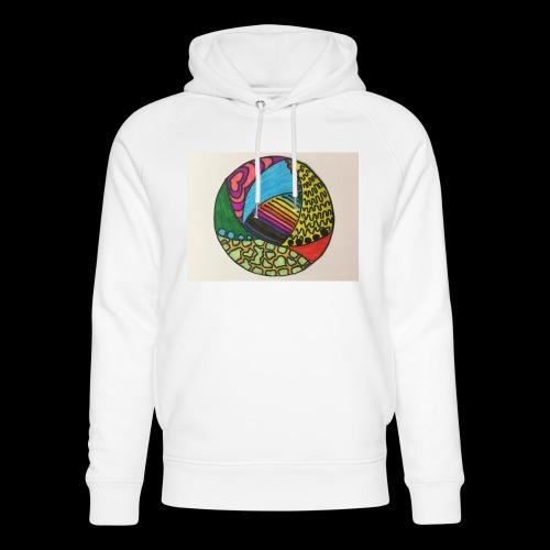 circle corlor - Stanley & Stella unisex hoodie af økologisk bomuld