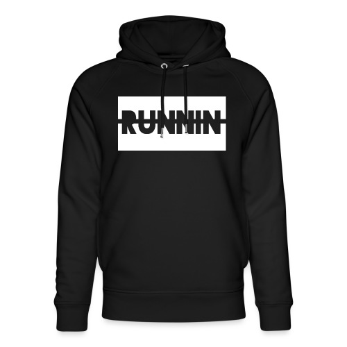 Runnin '| Exclusive - Unisex Organic Hoodie by Stanley & Stella