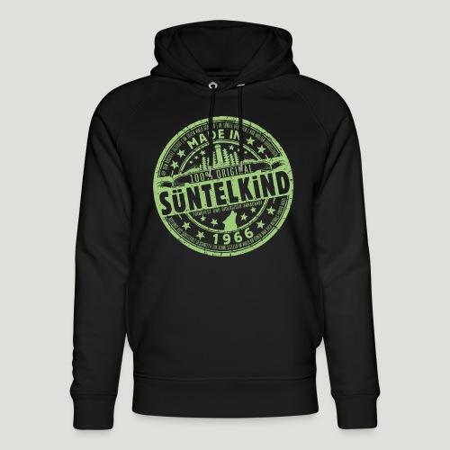 SÜNTELKIND 1966 - Das Süntel Shirt mit Süntelturm - Unisex Bio-Hoodie von Stanley & Stella